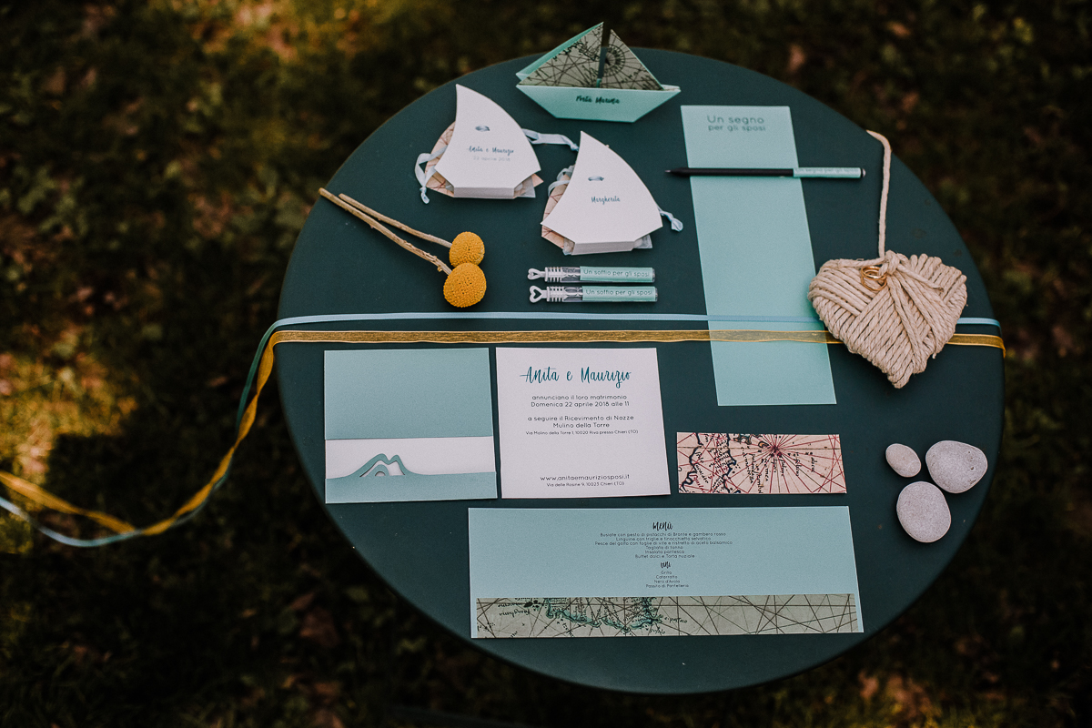 Elopement, sea dream, stationery,ispirata al mare