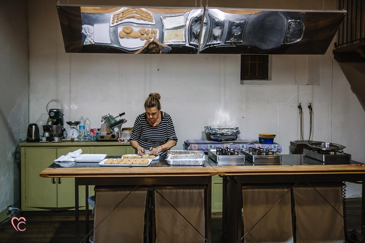 Aperitivo fotografico al Mulino della Torre, chef Valeria de Il Macino catering e cucina a domicilio