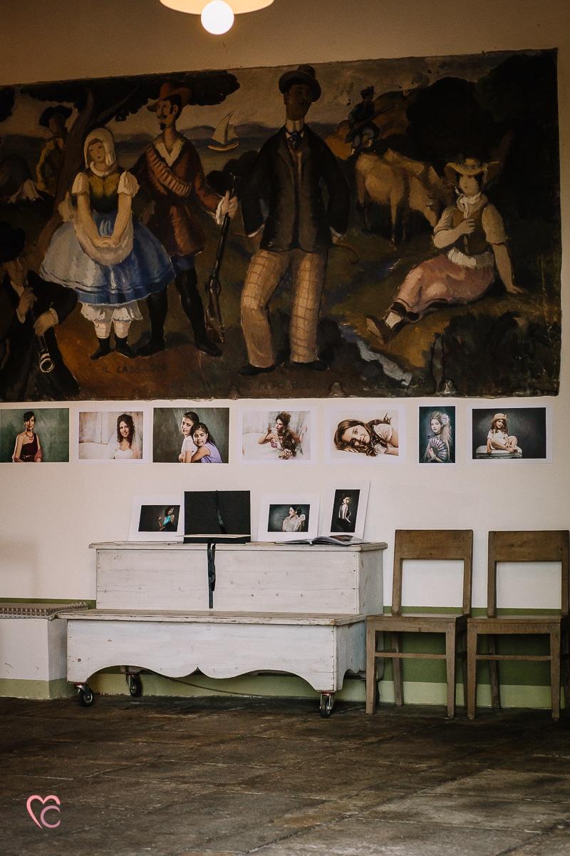 Aperitivo fotografico al Mulino della Torre , mostra fotografica di Mari Crea photographer