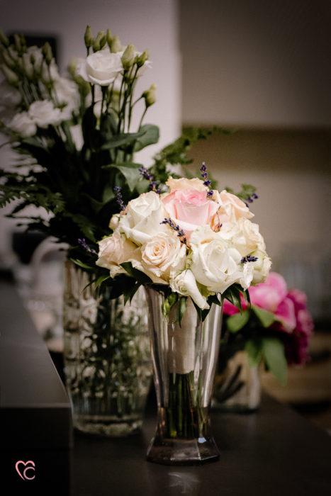 matrimonio a Torino e Cortanze, preparazione sposa, bouquet