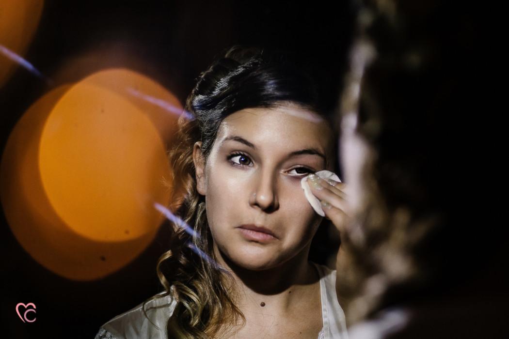Matrimonio alla Morra,preparazione della sposa, make-up