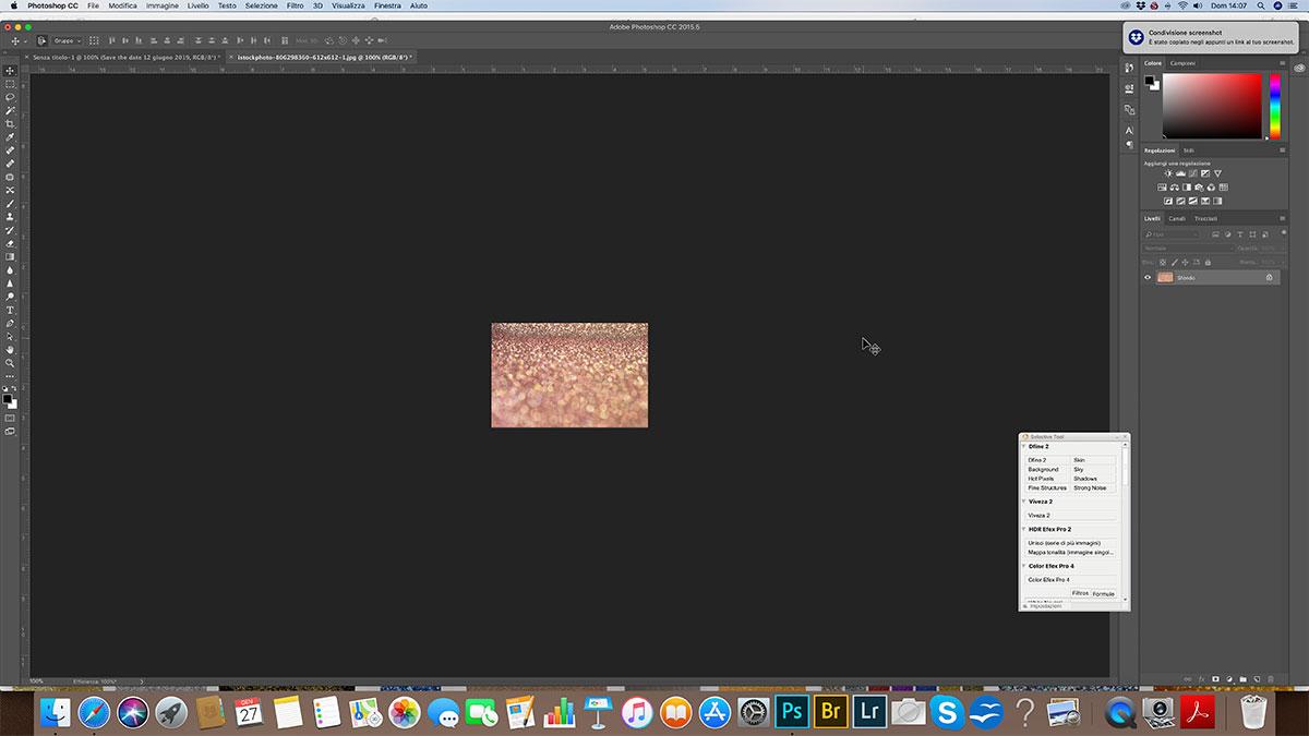 Come creare una scritta glitterata con Photoshop