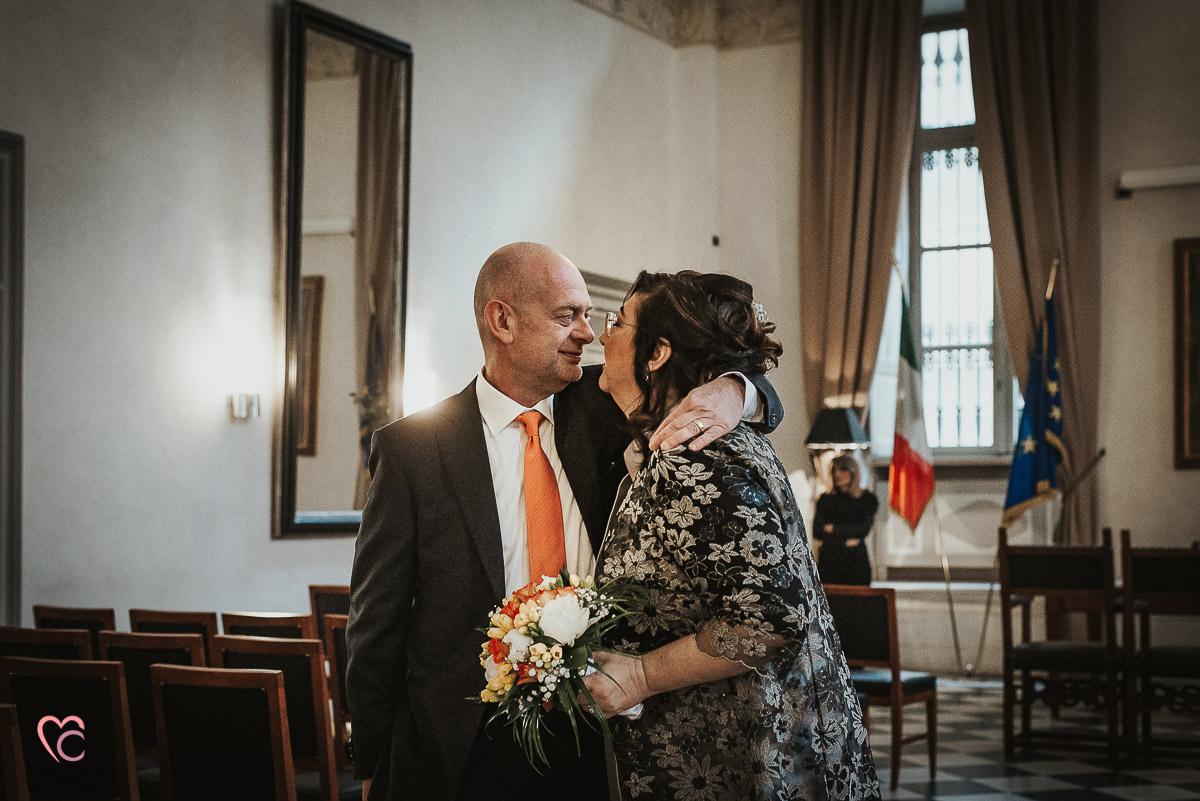 Fotografo matrimonio Torino, cerimonia civile alla sala Juvarra