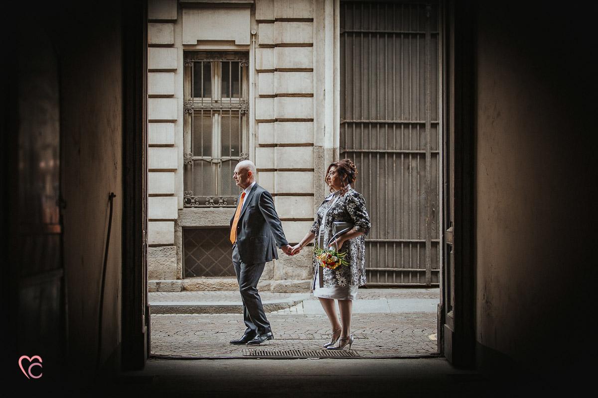 Fotografo matrimonio Torino, cerimonia civile alla sala Juvarra,servizio di coppia in giro per Torino