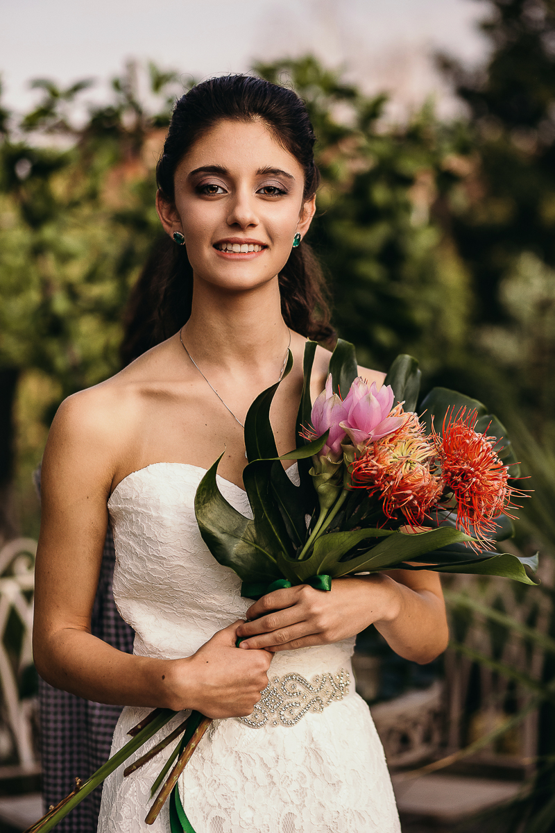 Tropical wedding, bouquet Ifiori di Saradue