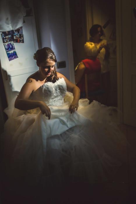 Matrimonio a Piobesi Torinese, preparazione sposa a Vinovo