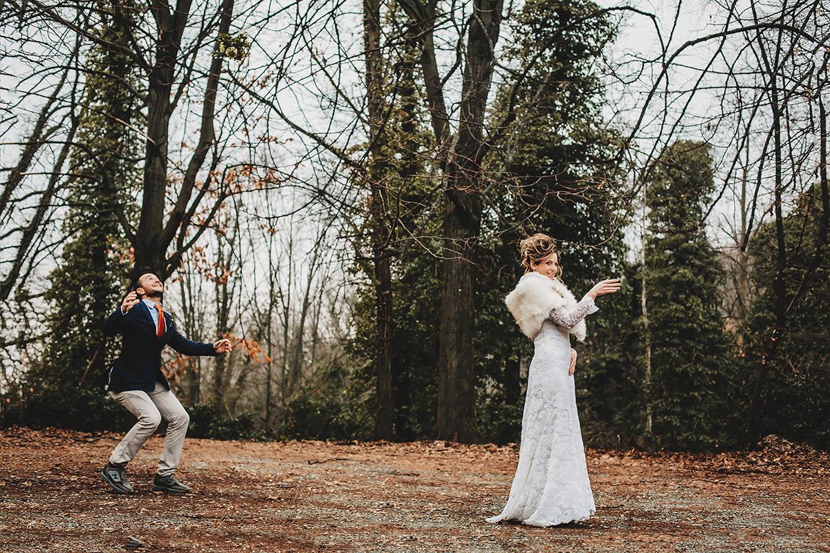 Matrimonio in inverno, fotografo matrimonio Torino,elopement sulla collina torinese