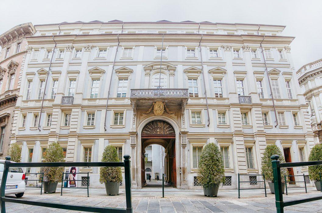 Matrimonio al The Number 6 di Torino, palazzo Valperga Galleani